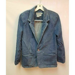 Vintage Made In The Shade Women's Jean Jacket Med
